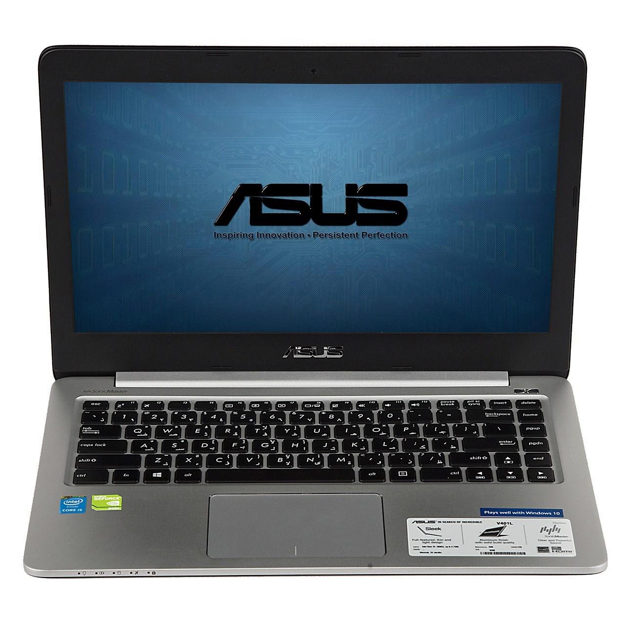لپ تاپ 14 اینچی ایسوس مدل asus v401uq c